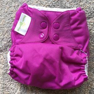 NEW BumGenius 5.0 Pocket Diaper Purple